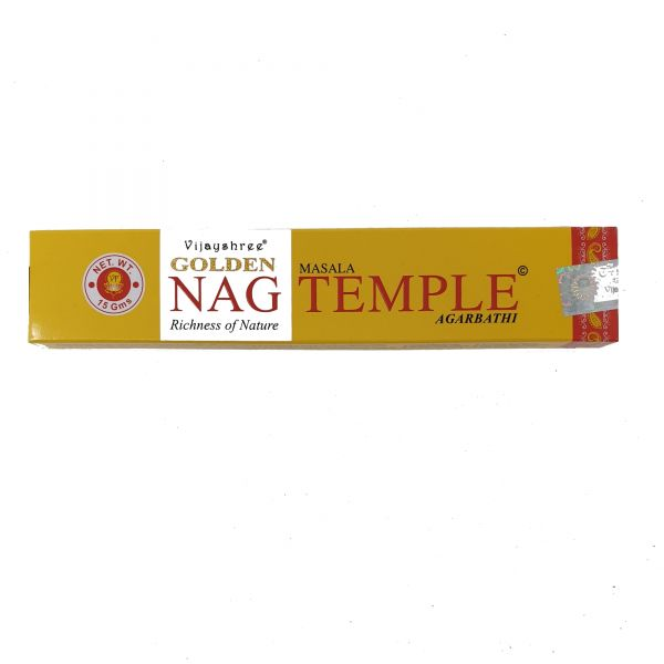 "Vijayshree Incense ""Golden Nag Temple"" 15gr"