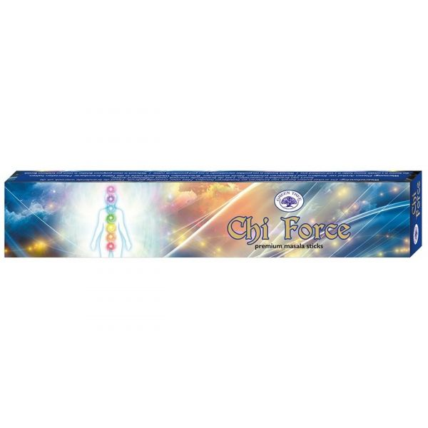 """Green Tree Incense """"Chi Force"""" 15gr."""