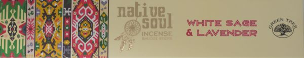 "Native Soul Incense ""White Sage & Lavender"""