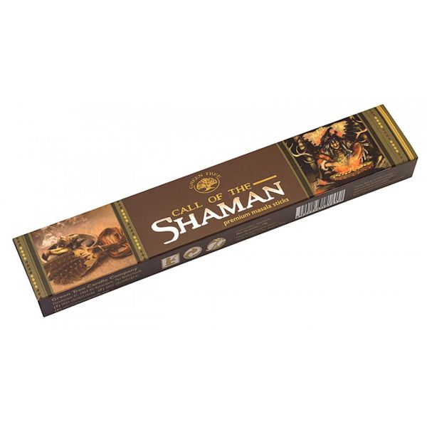 """Green Tree Incense """"Call Of The Shaman"""" 15gr."""